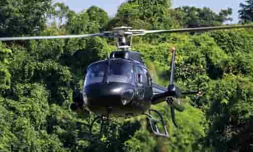 Til hva og hvor leier du helikopter?