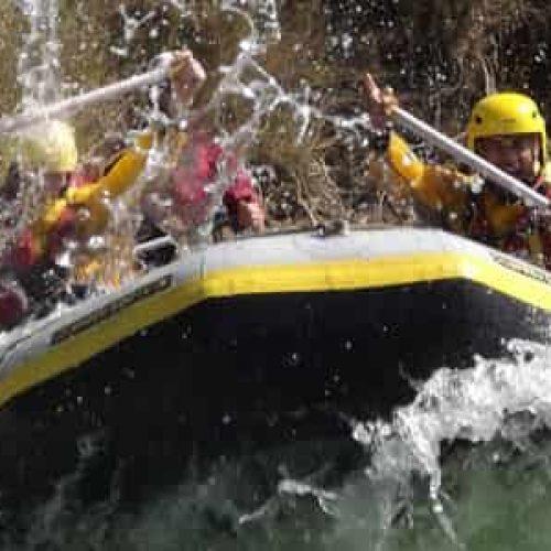 Rafting elv