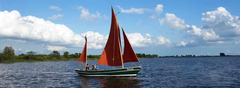 Grunnsprinsippet i seiling er å fange vinden
