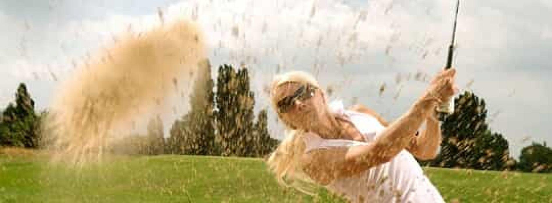Kort om å spille golf